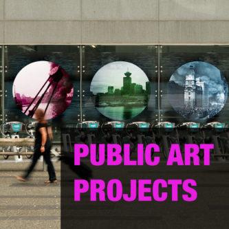 public art projects - Achong